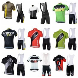 Cycling Gel Pads NZ - 2019 Men MAVIC SCOTT Team Cycling Jersey Set Summer Short Sleeve MTB Bicycle clothes Gel Pad Ropa Ciclismo Bike Cycling Clothing K041009