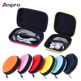 $enCountryForm.capitalKeyWord Australia - wholesale Earphone Wire Case Cable Storage Box For Earphone Headphone Accessories Earbuds Memory Card USB Data Cable Organizer