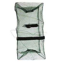 $enCountryForm.capitalKeyWord Australia - Durable Layers Fishing Net Utility Folding Fish Care Creel Tackle Portable Fishing Net Stake Small Mesh Large Mesh #13