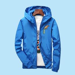 $enCountryForm.capitalKeyWord Australia - S to 7XL plus size autumn men women jacket windbreaker outerwear embroidered bird hip hop Rapper dancer DJ hooded coat
