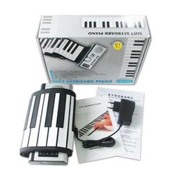 61 electronic keyboards online shopping - Hot Keys Flexible Synthesizer Hand Roll up Roll Up Portable USB Soft Keyboard Piano MIDI Build in Speaker Electronic Piano