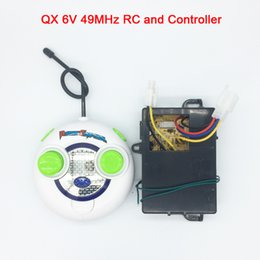 $enCountryForm.capitalKeyWord NZ - QX 49MHz Children's electric car RC and controller 6v, baby electric car remote control and receiver