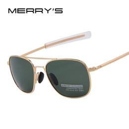 5a261ae1b5814 New Army AO Sunglasses American Optical Glass Lense Alloy Frame Quality  Polarized Sunglasses Oculos De Sol