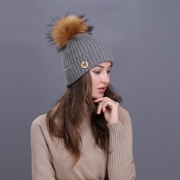 $enCountryForm.capitalKeyWord Australia - Hot Winter 6 Colors 010 Fit 18mm Snap Button Knitted Hat Charms Fashion Jewelry For Women Teenagers Girl Christmas Gift