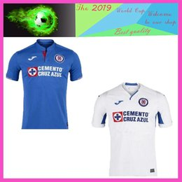 1af8c5dd7bb Mexico Blue Cross 2019 2020 Mexico Club Cruz Azul Soccer Jerseys 19 20  CARAGLIO MONTOYA MENDEZ football Shirts camisetas de futbol S-2XL
