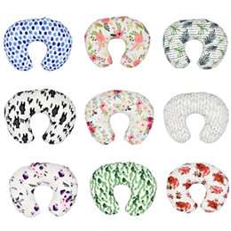 Cool beds online shopping - 20 Styles Baby Feeding Nursing Pillowcase U Shaped Baby Food Maternity Case Neck Care Newborn Girls Boys Breastfeeding bed Pillow Cover