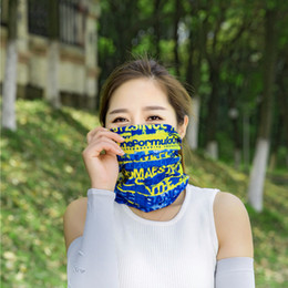 cycle bandana face mask Australia - Magic Headband Riding Face Mask Outdoor Sports Neck Warmer Cycling Bike Bicycle Masks Head Scarf Scarves Bandana