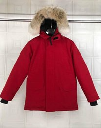 mens duck down parkas NZ - 2020 Winter Jacket Mens Stylist Down Parka Outerwear Big Fur Hooded 90% Duck down Down Jacket Coat Size XS-XXXL
