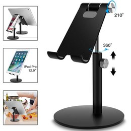 $enCountryForm.capitalKeyWord Australia - Universal Mobile Phone Tablet Desk Holder Aluminum Metal Stand For iPhone iPad Mini Samsung Smartphone Tablets Laptop