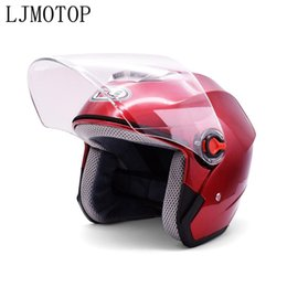 lights for scooters NZ - Motorcycle helmet light weight safety open face helmet scooter bike For 125 144 150 SX XC 200 XC-W EXC 250 XC SX -F