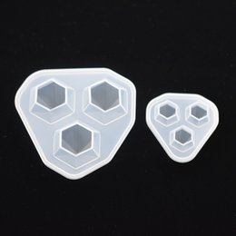 Silicone Handmade Tools Australia - Accessories Jewelry Tools Equipments SNASAN Silicone Mold for Diamond Pendant Resin epoxy Silicone Mould handmade tool