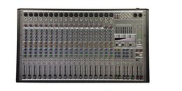 24bit Player Australia - 20Channels 2x1800W 4ohm 4 band EQ Double 24Bit DSP Effect Bluetooth Powered Mixer P-20X2