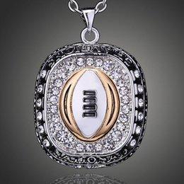 $enCountryForm.capitalKeyWord Australia - Ohio State University Buckeyes Champion necklace for men Sport Jewelry .champion necklace