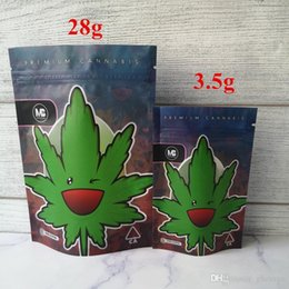 METRO BLOOMIN Mylar Childproof Bags 420 Packaging Connected Cookies Bag Stand Up Pouch Dry Herb Flowers