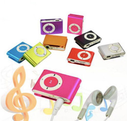 $enCountryForm.capitalKeyWord Australia - Metal Mini Clip MP3 Support Micro TF SD Slot With Earphone and USB Cable Portable MP3 Music Players
