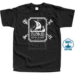 $enCountryForm.capitalKeyWord Australia - Floki's Shipyard Shirt Funny T Shirts Viking Builder Shirt Graphic Floki Tshirt Cheap Sale 100 % Cotton T Shirts For Men Animal