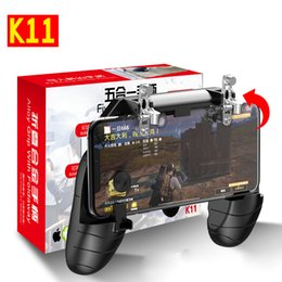 gamepad phone Australia - PUBG k11 Gamepad Trigger Phone Gaming handle MX Mobile Game Fire Button Aim Key L1R1 Shooter Controller PUBG