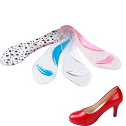 Discount k shoes - Women Silicone Gel Insoles Arch Support Orthotic Flatfoot Prevent Foot Cocoon High Heels Shoes Pad K-BEST
