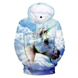 022092005 Aikooki New Unicorn 3D Hoodies Men women Fashion Sweatshirt Spring autumn  winter Casual Hoodie Boys girls Cool Coat Outwear