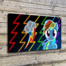 $enCountryForm.capitalKeyWord NZ - Rainbow Dash Stamp,Home Decor HD Printed Modern Art Painting on Canvas (Unframed Framed)