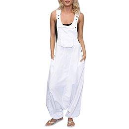 $enCountryForm.capitalKeyWord UK - wholesale Plus Size kombinezon damski Women U Neck Sleeveless Backless Side Pockets Baggy Long Jumpsuits