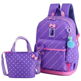 Hand Bags Types Australia - Princess Type Backpack Casual All-match Preppy Style Fashion Middle School Student Hand Bags For Teenage Girls Backpacks 3 Bags