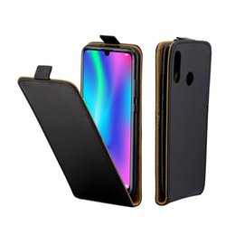 Discount huawei smart phones honor - Business Leather Case For Coque Huawei Honor 10 lite P Smart(2019) Cases Vertical Flip Cover With Card Slot Mobile Phone