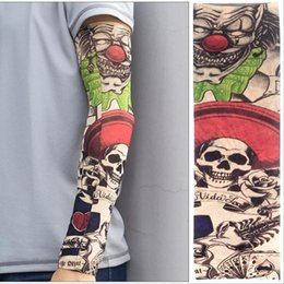 Men's Arm Warmers Apparel Accessories Punk Tattoo Sleeve Anti-sunshine Cool Fashion Men Women Tattoo High Elastic Halloween Party Dance Party Arm Leg Sleeves #8