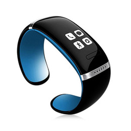 l12s oled bluetooth großhandel-Smart Watch L12S OLED Bluetooth Armband Armbanduhr verlorene Erinnerung Pedometer Smart Armband Ring für IOS Android iPhone Phone