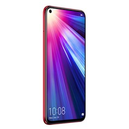 "mms player NZ - Original Huawei Honor V20 View 20 4G LTE Mobile Phone 6GB RAM 128GB ROM Kirin 980 Octa Core Android 6.4"" 48MP TOF Fingerprint ID Cell Phone"