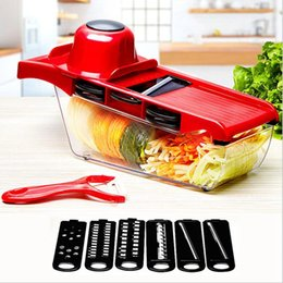 $enCountryForm.capitalKeyWord Australia - Kitchen multifunction shredder domestic Manual shredded potatoes turnip Grater Vegetable Cutter With Stainless Steel Vegetable Tools