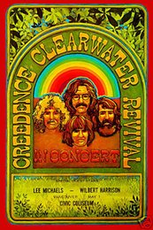 $enCountryForm.capitalKeyWord UK - 1970's Rock: John Fogerty & Creedence Clearwater Revival Canada Art Silk Poster 24x36inch 24x43inch