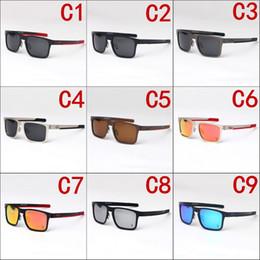 Rims Alloys Canada - EU-AM big-rim sporty polarized sunglasses O4123 outside cycling glasses revo-mirror lens quality alloy frame silicone Gel temple outlet