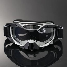 Girls Ski Goggles Australia - Possbay Ski Glasses Motorcycle Glasses Off Road Motocross Goggles Sunglasses Cafe Racer Dirt Bike Helmet Eyewear Gafas Glasses