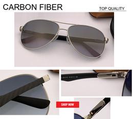 gradient rimless sunglasses 2019 - best selling New designer Vintage sunglass Classic Fashion top quality carbon fiber Oculos De Sol rd8313 Sunglasses for