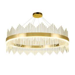 $enCountryForm.capitalKeyWord UK - Contemporary round crystal chandelier light gold luxury pendant chandeliers lighting living room bedroom led hanging lamps