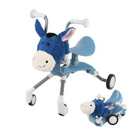 ride car toys UK - AGEKUSL Cartoon Child Kids Scooter Bike Bicycle Folding Infant Baby Walker Shockproof Cycling Driving Ride On Cars Toy 1-4 Years