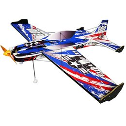 Wholesale Newest EXTRA F3P E mm Wingspan EPP D Aerobatic Aircraft RC Airplane Kit For Boys Kids Gift Adults Toys