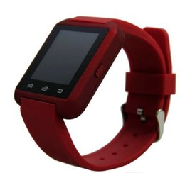 Android 5.1 Smart Watch NZ - Smartwatch U8 Watch Smart Watch Wrist Watches for iPhone 7 7S 5 5S Samsung S7 S5 Note 10 Note 9 1 Android Phone Smartpho OTH017 10016 better