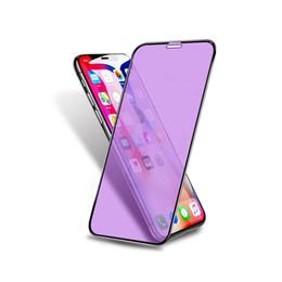 Großhandel Für iPhone 8 X XS XSMAX 7 6s Plus 3D 9H Härte gehärtetes Glas Displayschutzfolien Bluelight Augenschutz bruchsicher Schutzfolie