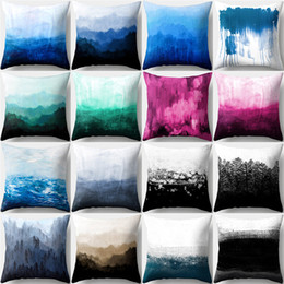 $enCountryForm.capitalKeyWord Australia - Wholesale Fancy 16 Designs Abstract Pattern 45*45cm Household Fabric Cushion Covers Bedroom Set Christmas Gifts Home Decor Party Decoration