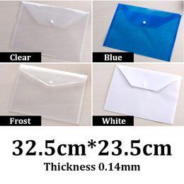 $enCountryForm.capitalKeyWord Australia - 32.5x23.5cm 0.14mm thickness PP plastic snap button clear bags