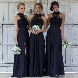 Long Chiffon Modest Bridesmaid Dresses Australia