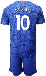 $enCountryForm.capitalKeyWord NZ - 2019 Customized home blue 10 Willian Soccer Jersey With Short,Cheap mens 11 Pedro 3 MARCOS A. 29 MORATA 10 Hazard 22 PULISIC men Soccer Set