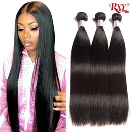 $enCountryForm.capitalKeyWord Australia - Brazilian Hair Weave Bundles Straight Human Hair 3 4 Bundles 10-26 Inch unprocessed Brazilian Straight Virgin Human Hair Weaving Wholesale