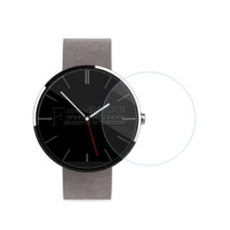 watch moto UK - 2PCS Premium Tempered Glass Screen Protector Film For Motorola MOTO 360 360S 360L Smart Watch 1st 2nd Gen 1 2 42mm 46mm Glass