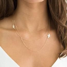 $enCountryForm.capitalKeyWord Australia - Kisswif Bohemian New Fashion Handmade Jewelry Lady Double Peace Pigeon Necklace Pendant Jewelry For Women Gift