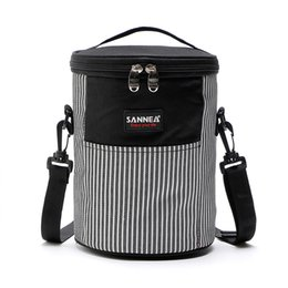 soft lunch coolers Canada - Outdoor Cooler Beach Bag Picnic Bag Storage Soft Cooler For Picnic Lunch Thermal Bags For