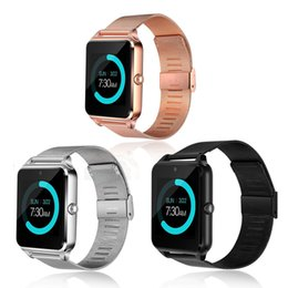 Wrist Watches For Women Australia - Smart Watch Men Women Bluetooth Wrist Smartwatch Support SIM TF Card Wristwatch For Apple Android Phone Watch Top