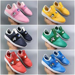 f2c84ac6bf853 Kids human race sneaKers online shopping - Designer Black Red HUMAN Snoopy  Kids Runing Shoes For